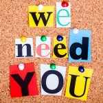 We Need YOU! Volunteer with the PTA